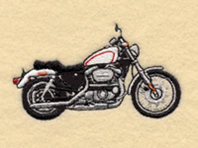 Harley-Davidson Sportster 1200 Custom - XL 1200C - pinstripe