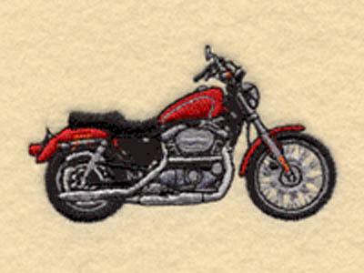 Harley-Davidson Sportster - XLH 1200 - pinstripe All
